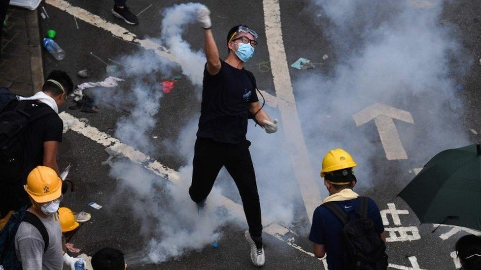 Demonstran di Hong Kong, 2019