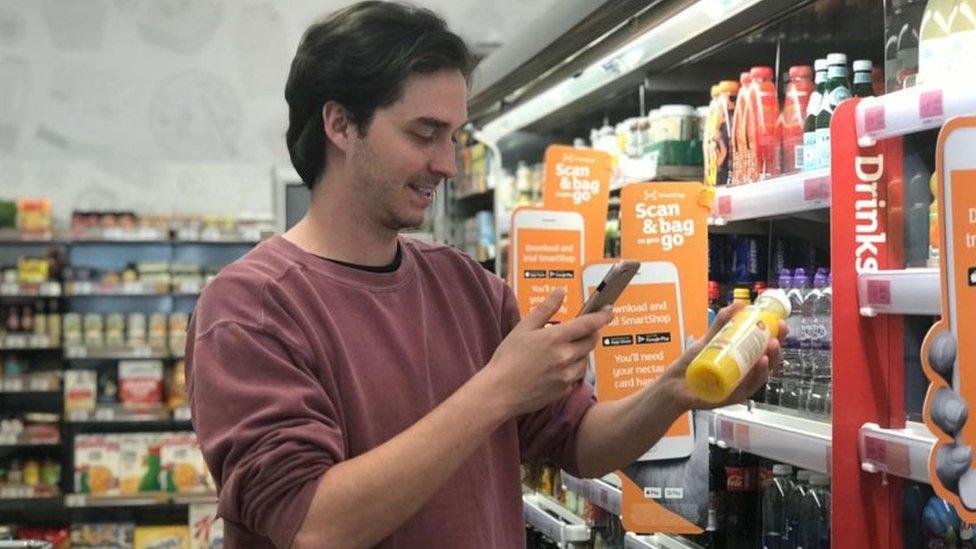 Holborn till-free Sainsbury's store