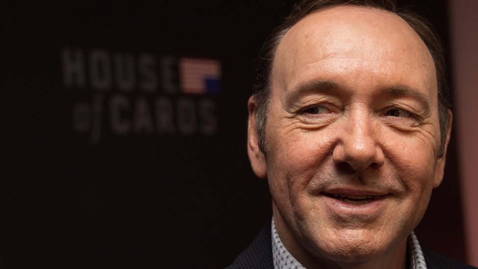 Hollywood actor and director Kevin Spacey at a screening of Netflix show House of Cards in 2016