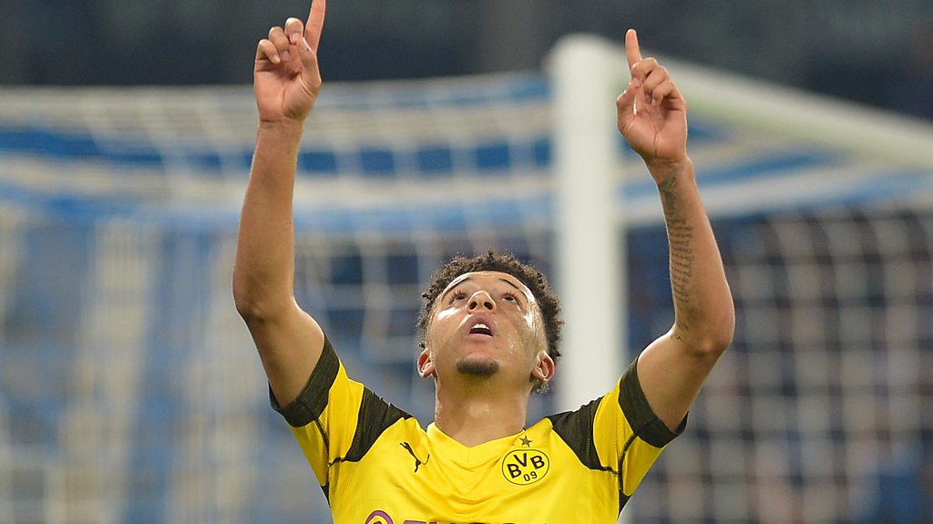 Schalke 1-2 Borussia Dortmund: Jadon Sancho nets derby winner for Dortmund
