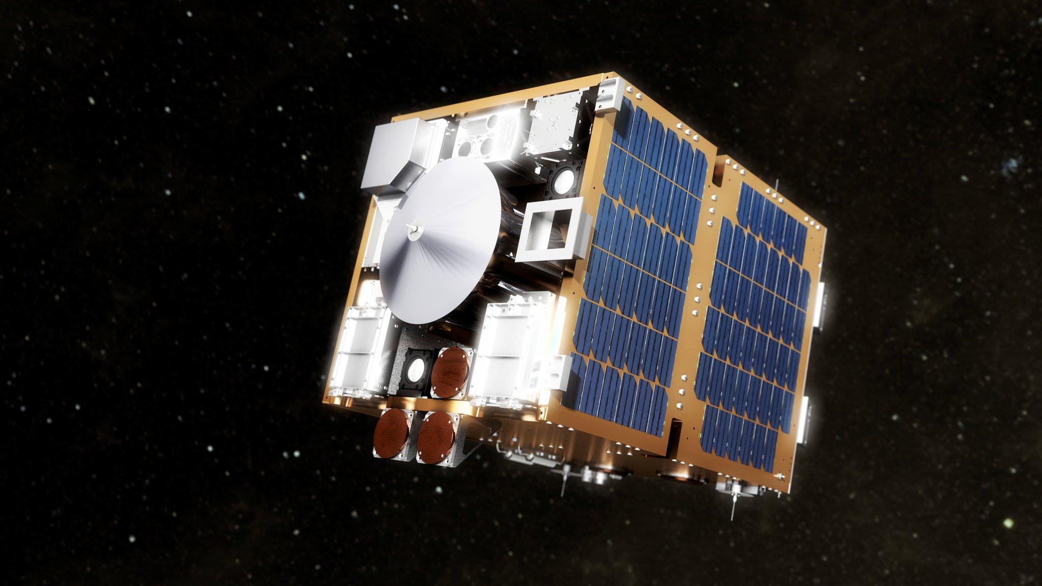 RemoveDebris: Space junk mission prepares for launch