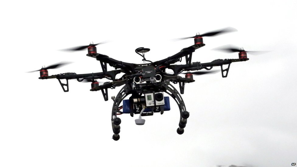 Drone used by US police