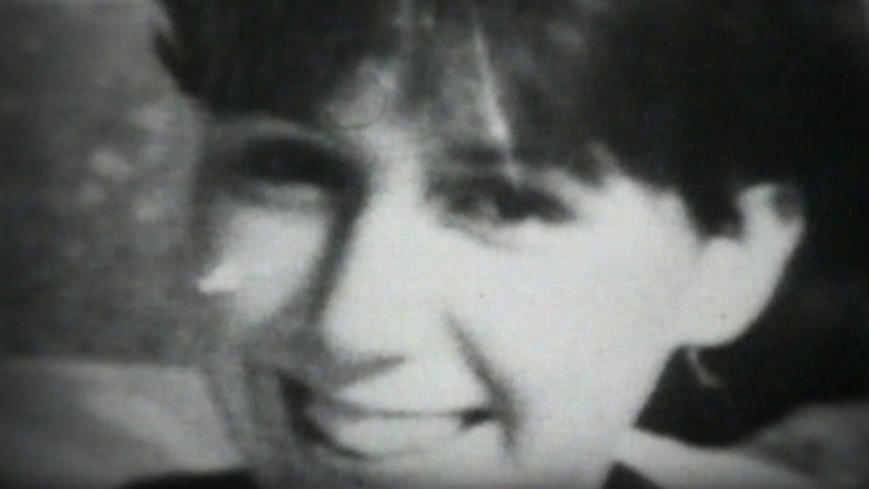 Family photograph of Lynda Mann