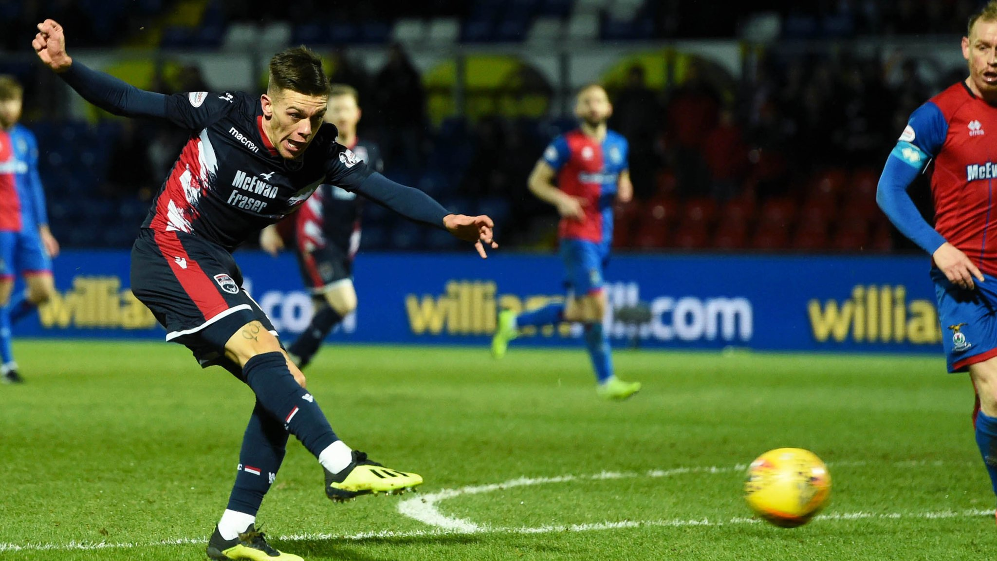 Ross County 2-2 Inverness CT: Josh Mullin secures Highland derby replay
