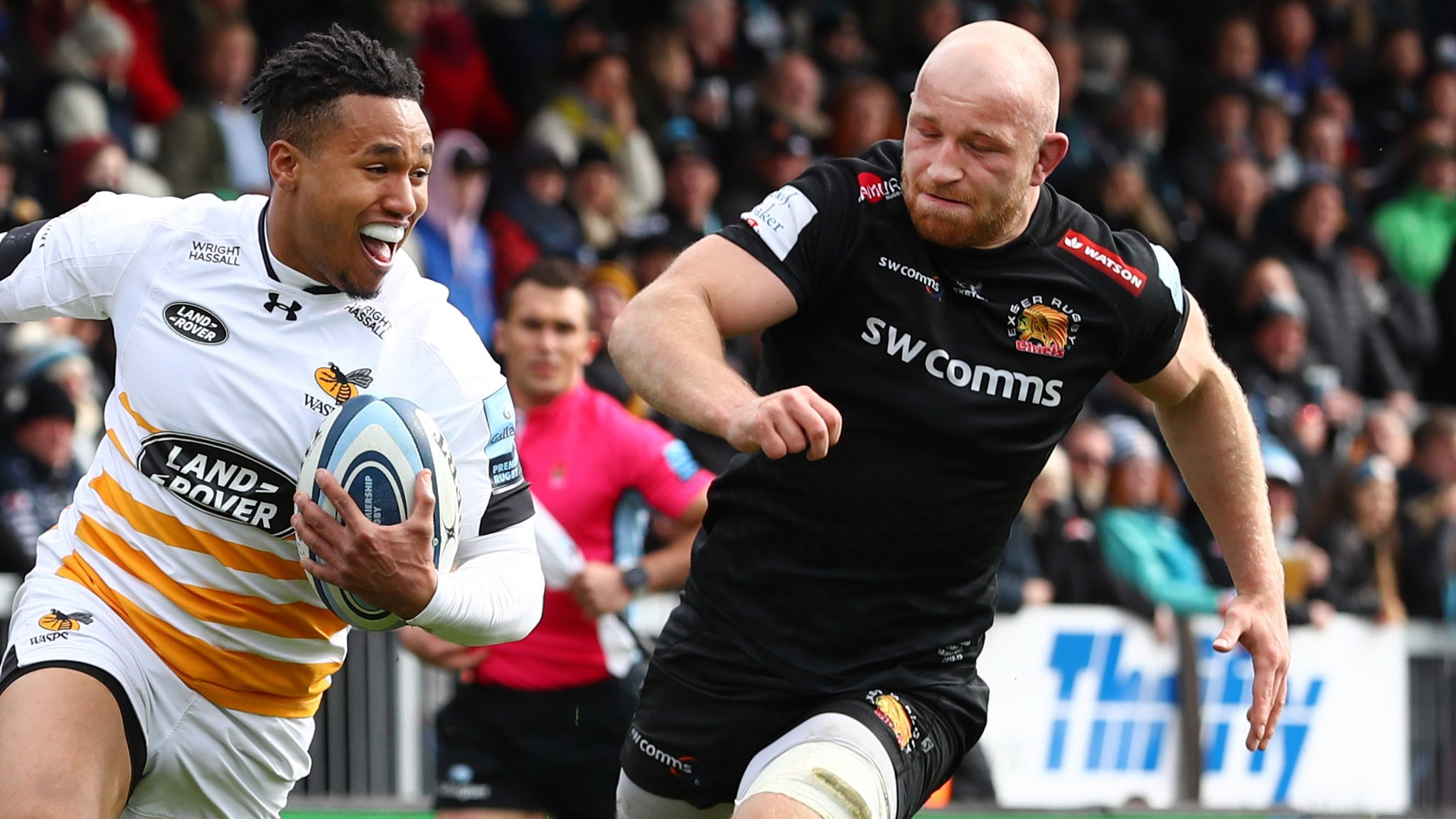 Premiership: Wasps beat Exeter Chiefs to stay in play-off mix