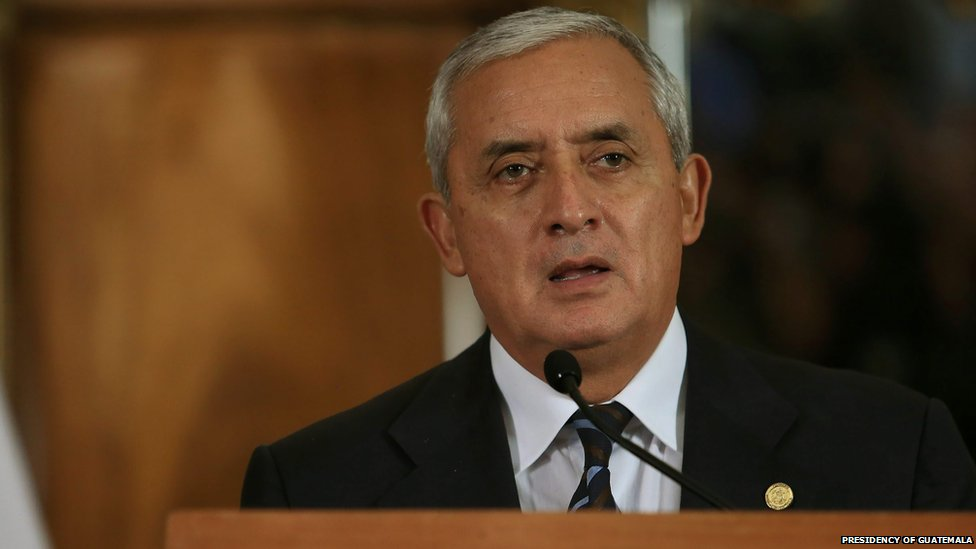 President Molina of Guatemala