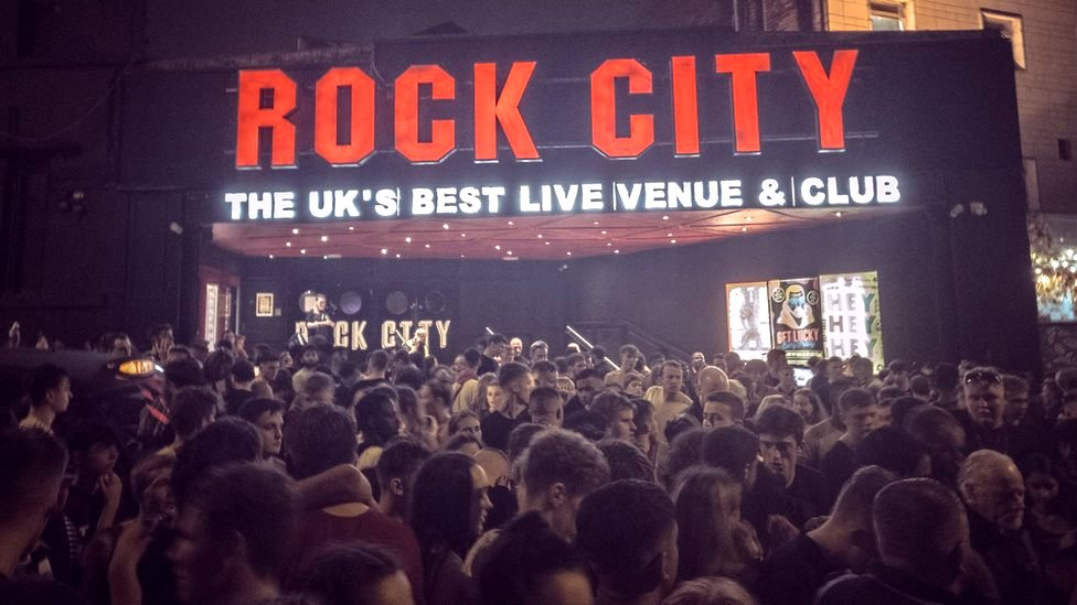 Nottingham Rock City evacuated after 'flare set off'