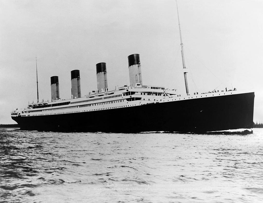 泰坦尼克號是當時世界上最大的遠洋郵輪。