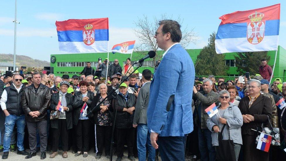 Vučić, Budućnost Srbije