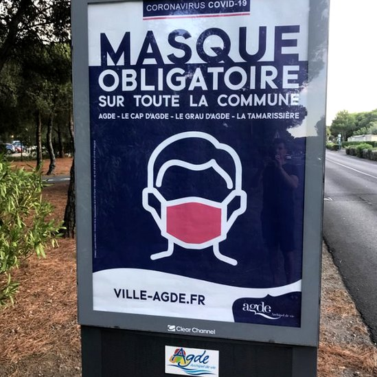 Poster in Agde