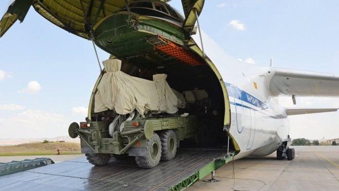 Türkiye'ye teslim edilen S-400 bataryaları