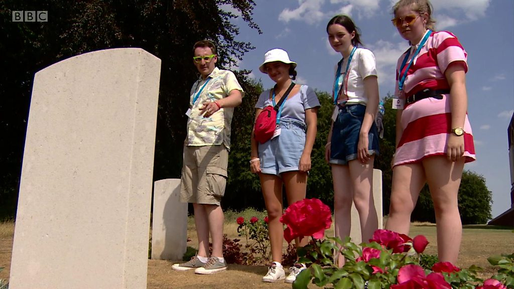 'Ninety-three of our former pupils died in WW1'
