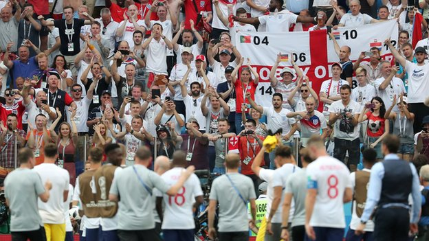 It's coming home! How England's record World Cup win unfolded in 15 tweets