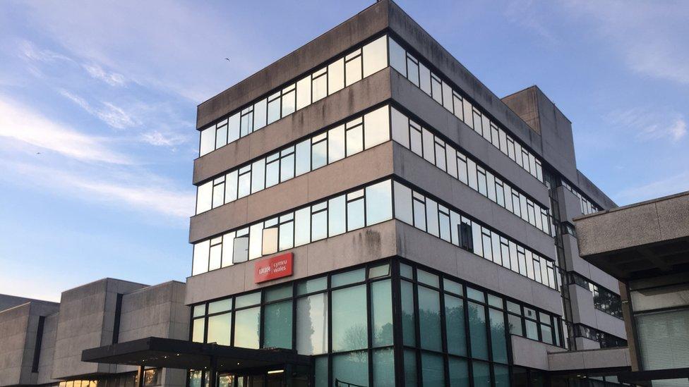 BBC Wales headquarters in Llandaff