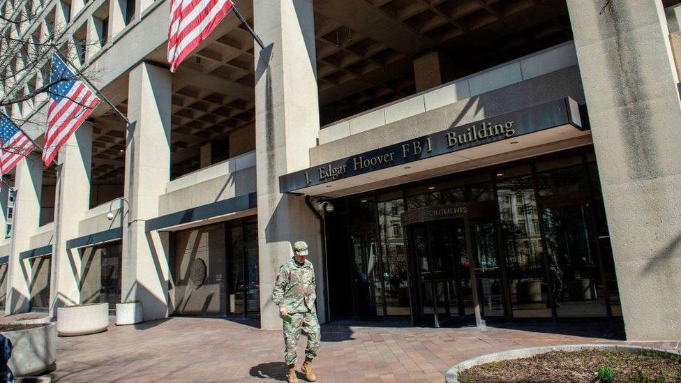 Edificio del FBI en Washington DC.