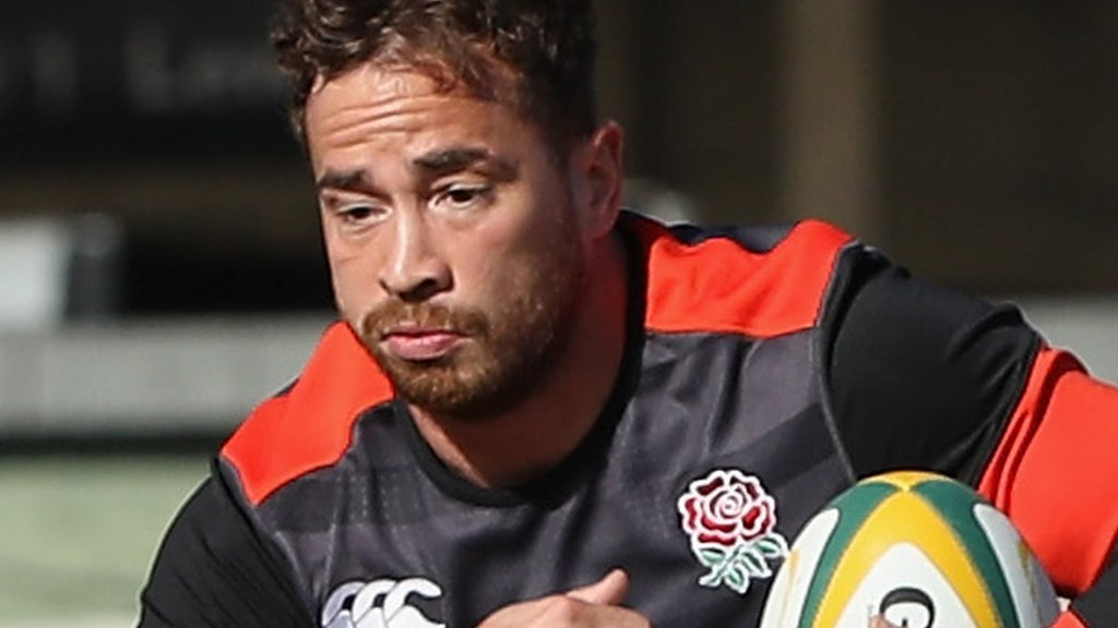 South Africa v England: Danny Cipriani could make first start since 2008 in third Test