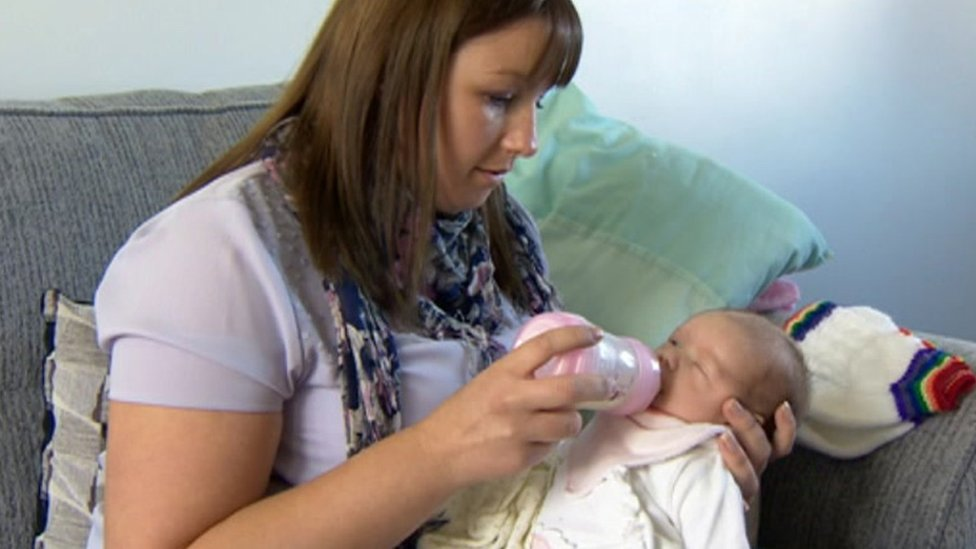 Charity leaflet saves North Lincolnshire unborn baby's life