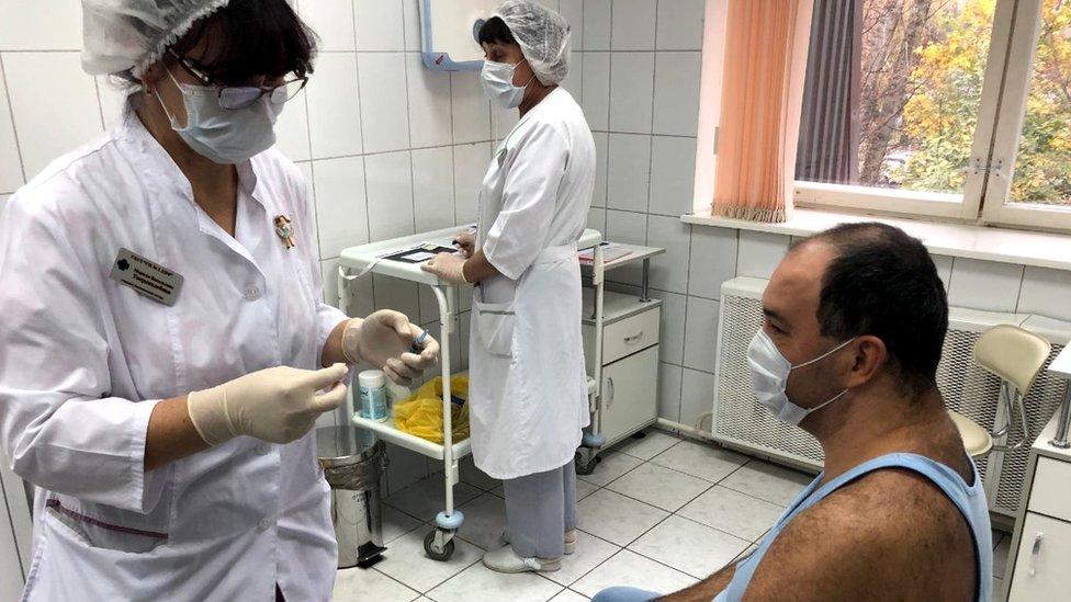 Many medics have themselves been asked to sign up as volunteers for Sputnik V trials