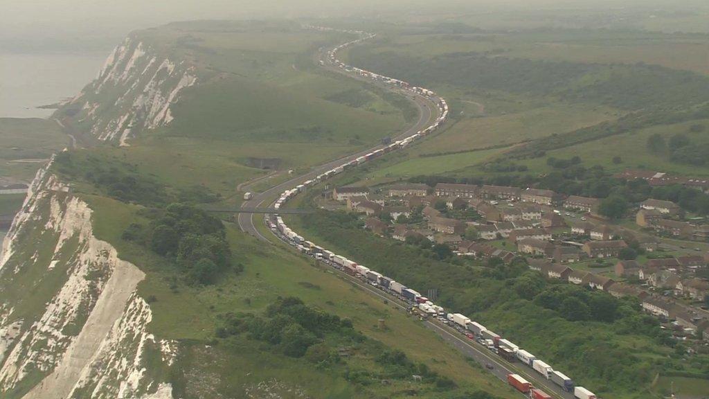 Dover queues