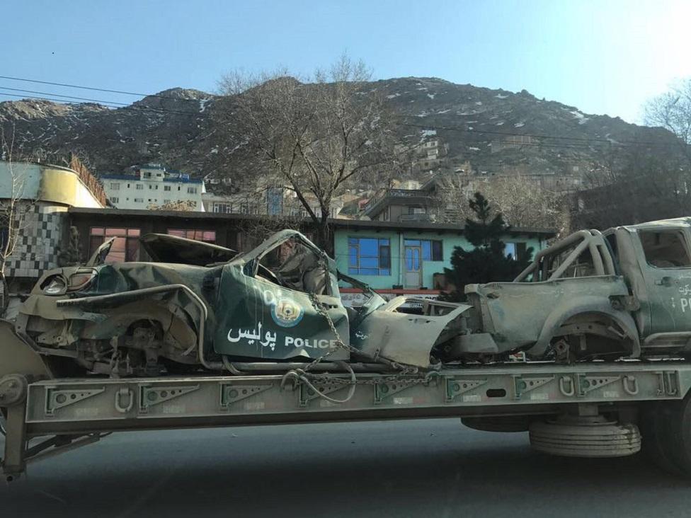 Autos destruidos