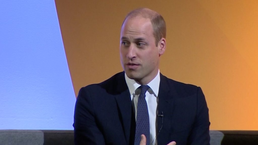 William talks of being 'tipped over the edge'