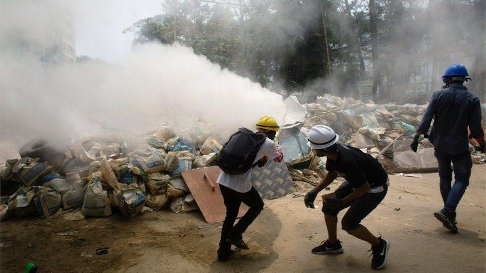 Protes di Myanmar, kudeta militer