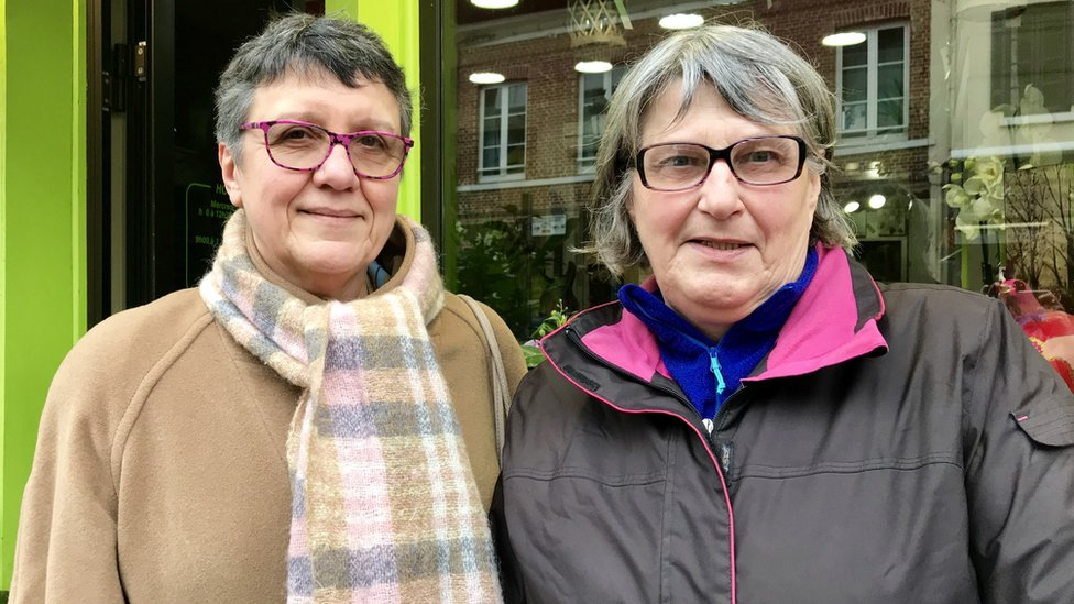 Fanny Niquet and Chantal Huger