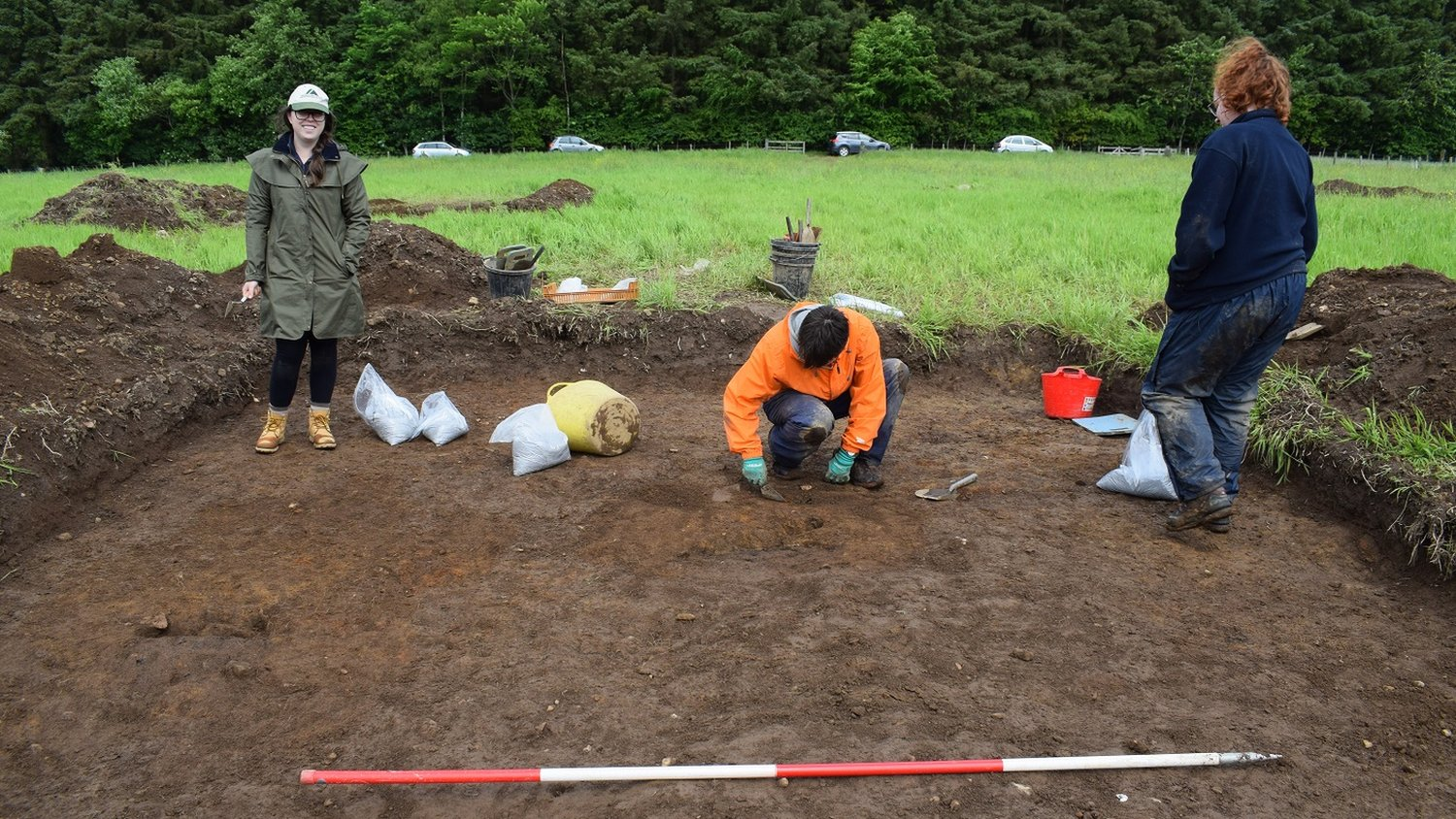 New archaeological dig at Aden Country Park