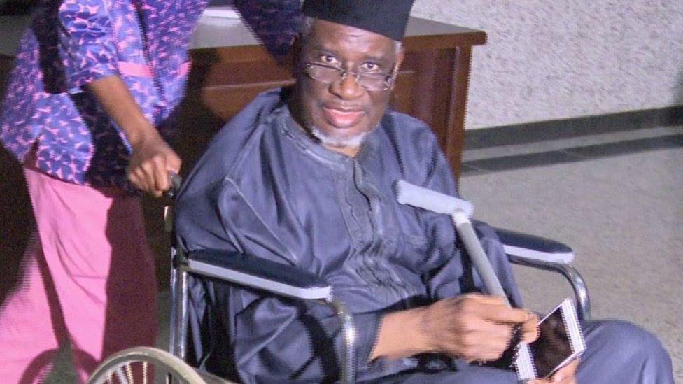 Bello Haliru Mohammed in court in Abuja - Tuesday 5 January 2016