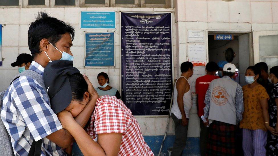 Keluarga korban, kudeta, Myanmar