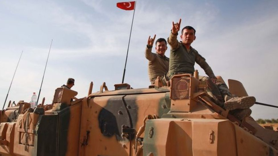 مقاتلون من القوات التركية