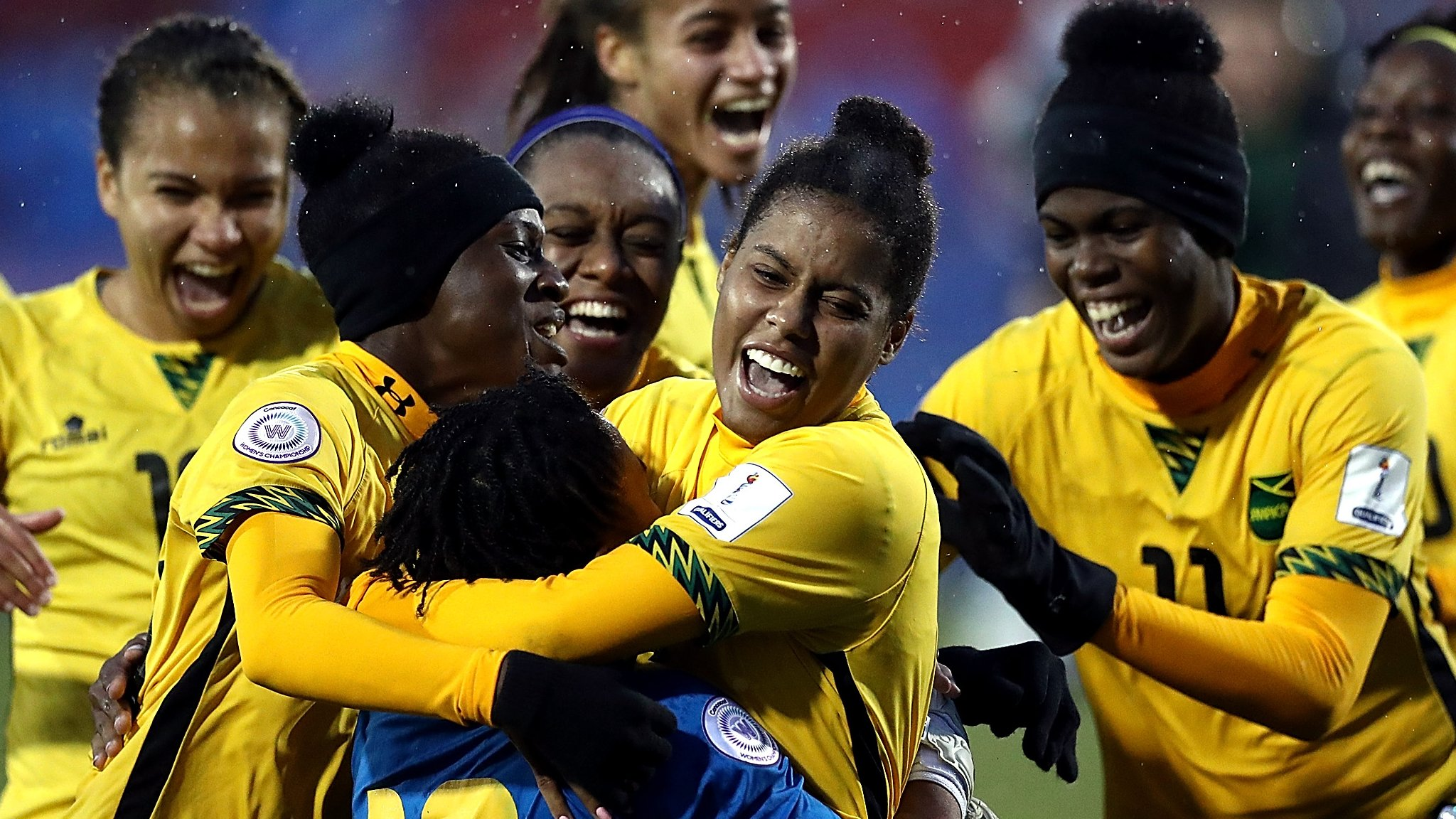 Bob Marley's daughter helps Reggae Girlz make World Cup history