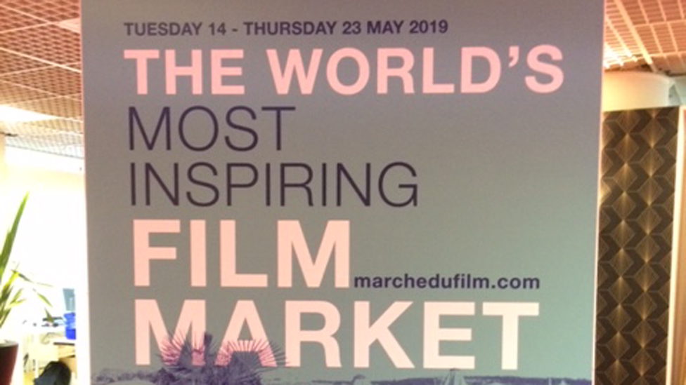 Film Market at Cannes