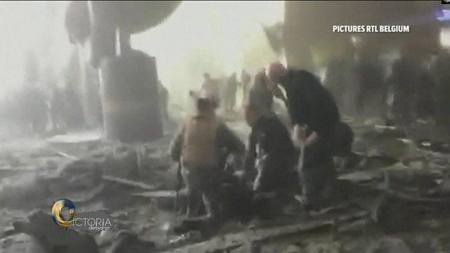 Scene of attack