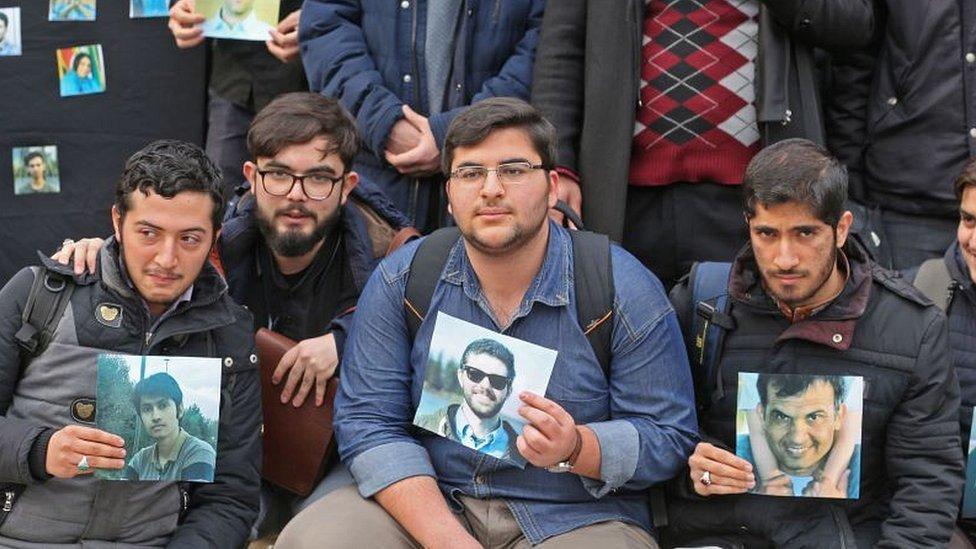 Tehran university student protest