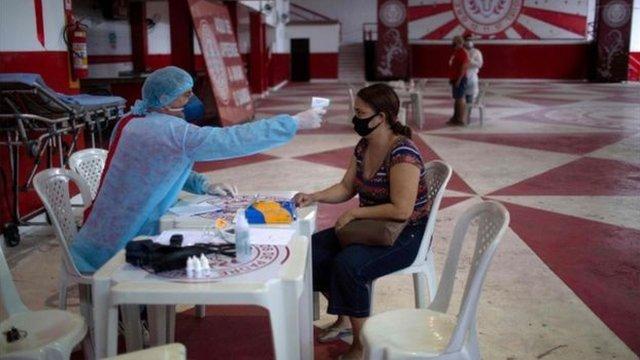 巴西是全球確診病例第二高的國家
