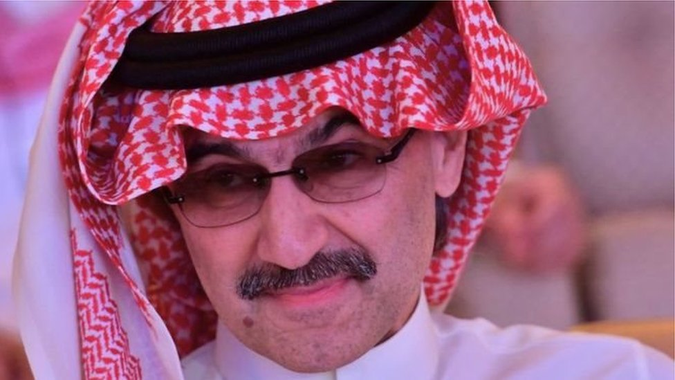 الملياردير السعودي الوليد بن طلال