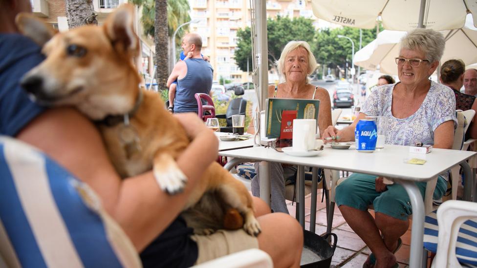 British pensioners in Spain