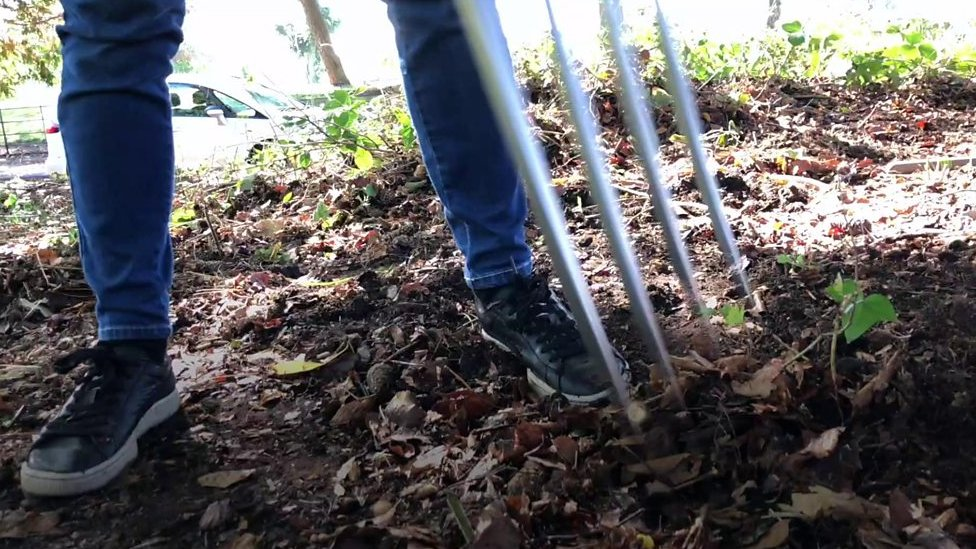 Birmingham residents boost fitness with forks, rakes and spades