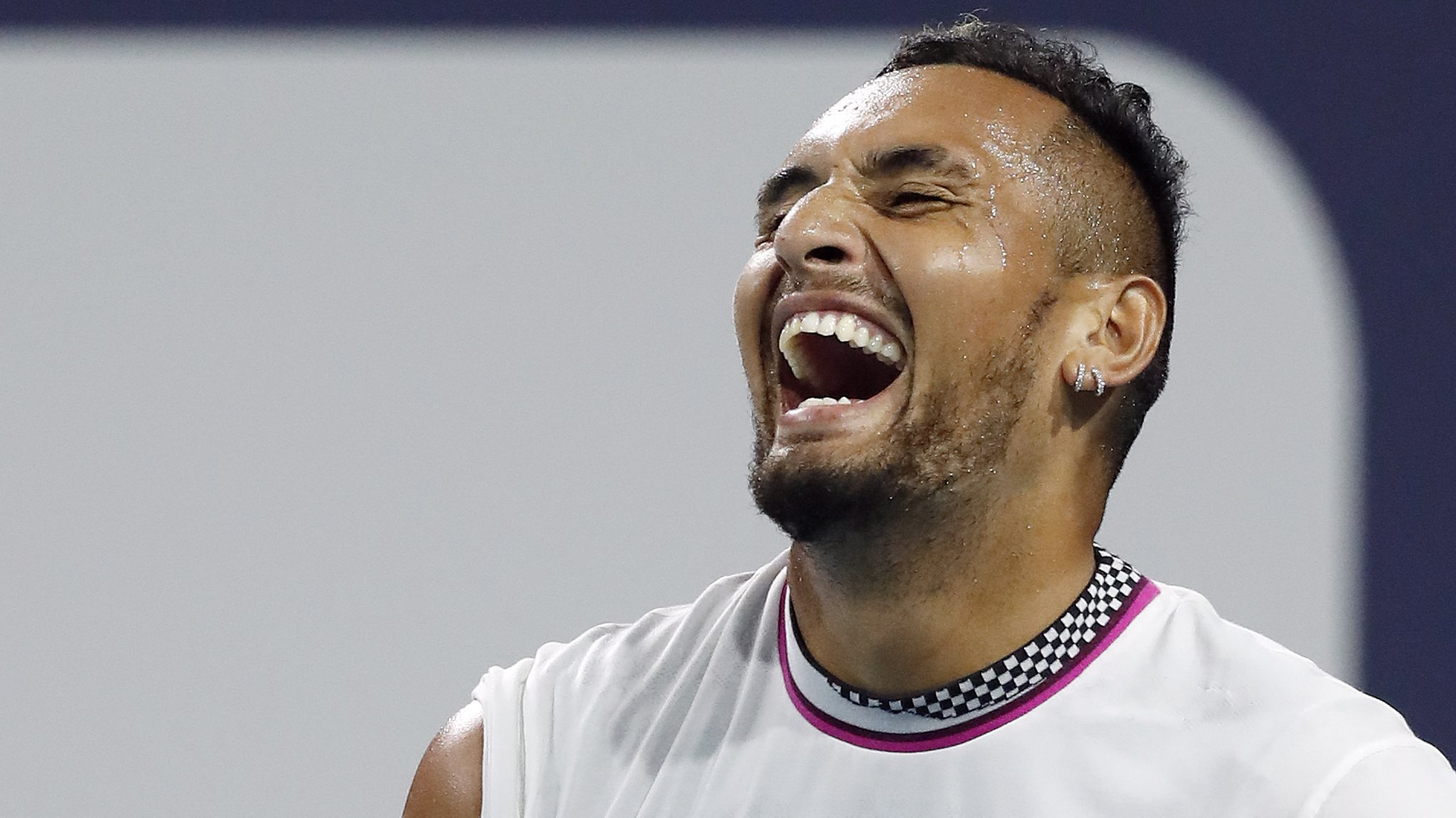 Kyrgios 'a genius', says Judy Murray after Australian twice served underarm in Miami Open win