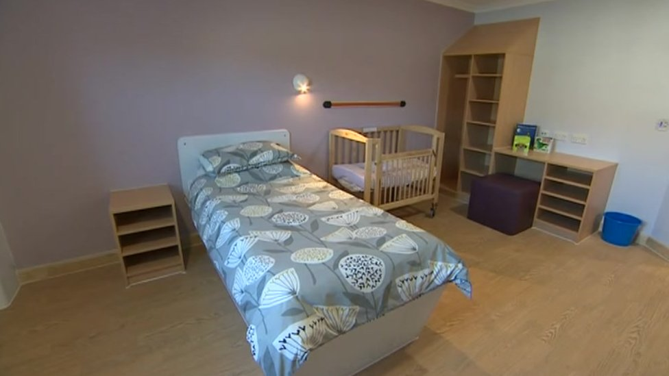 Room at the new mother and baby mental health unit
