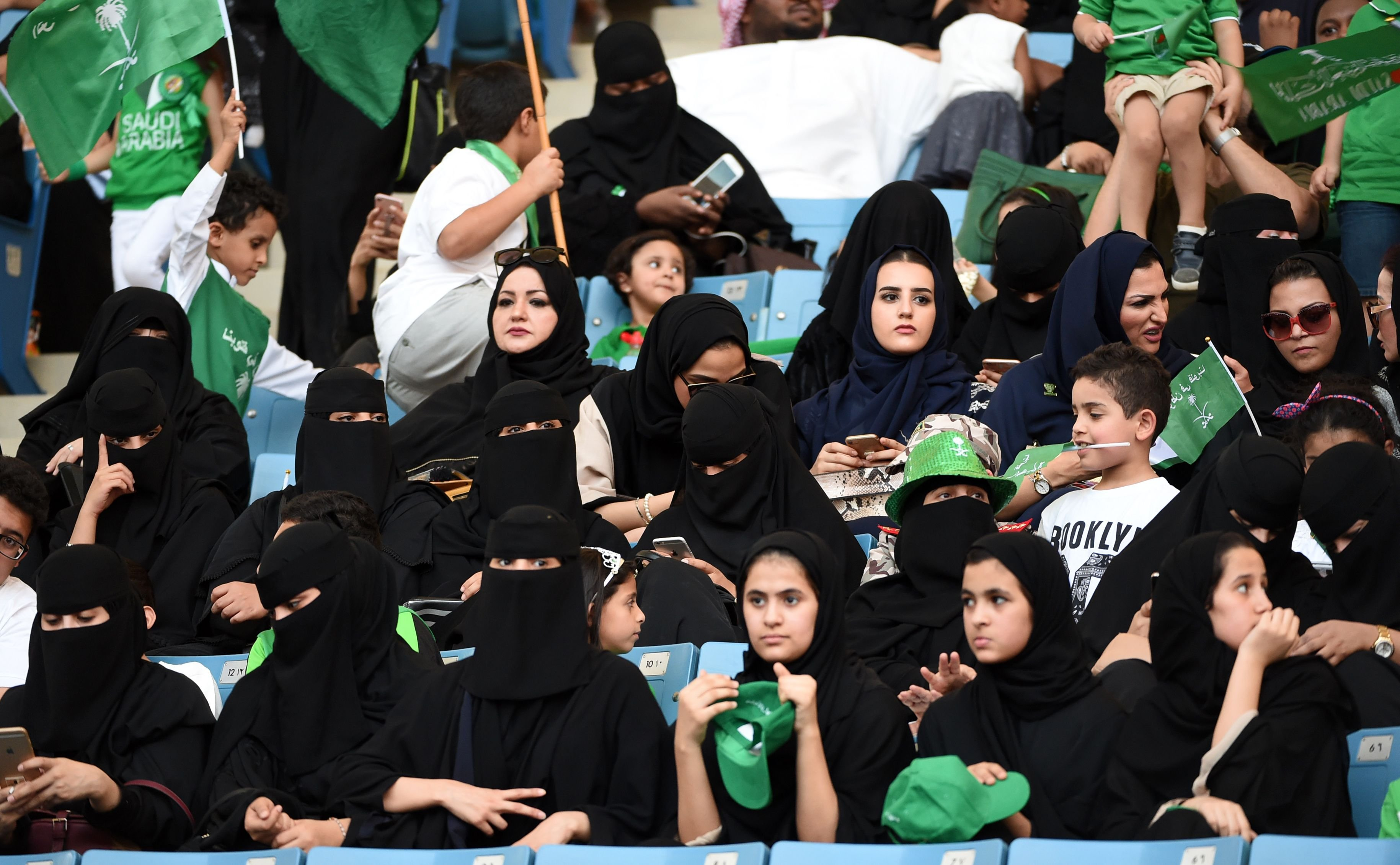 Saudi Arabia Backlash After Women Celebrate National Day Bbc News