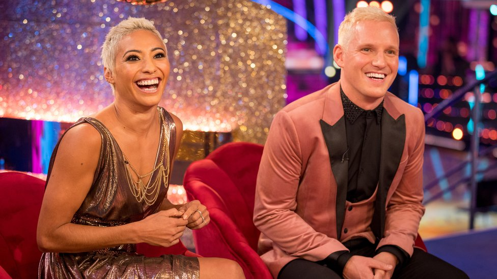 Karen Hauer and Jamie Lang