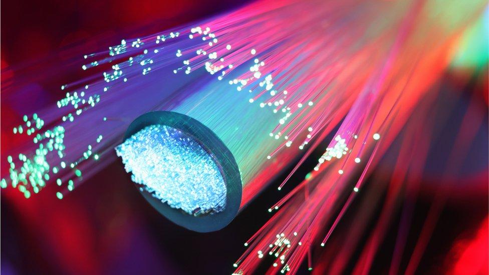 Fibre optics cables