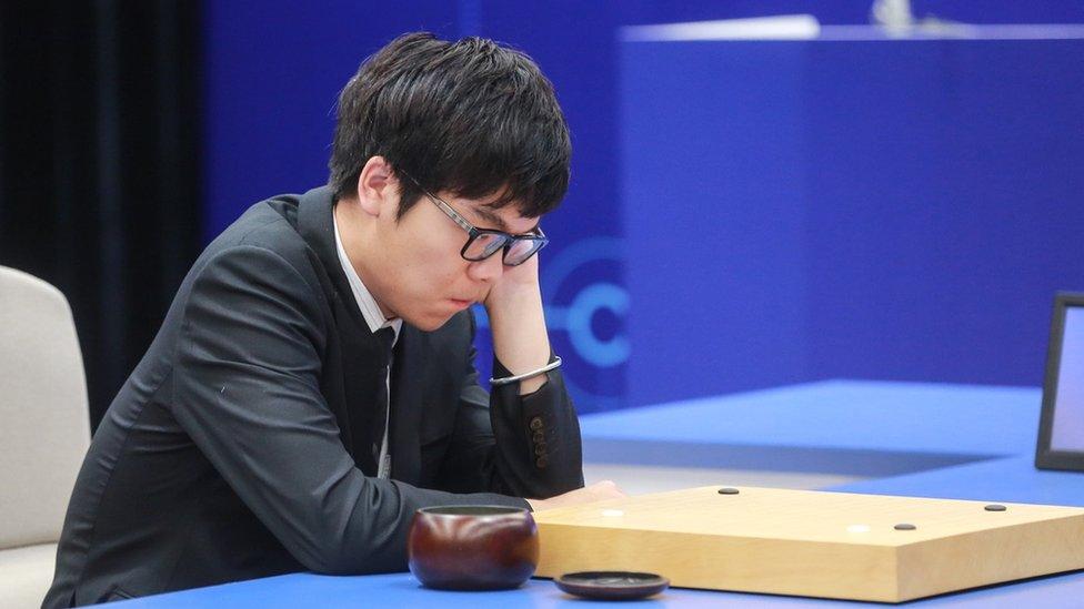 Ke Jie, jugador chino de Go