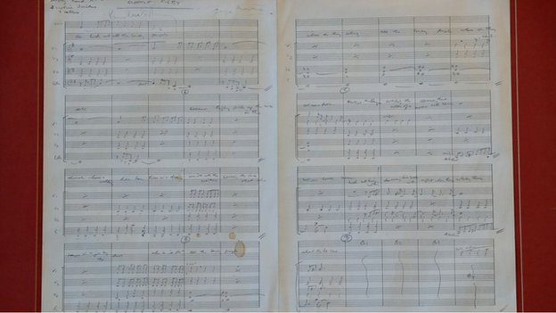 BBC News - 'Stolen' Beatles Eleanor Rigby score removed from auction