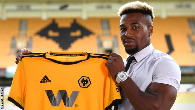 Record signing Traore could start for Wolves at Leicester