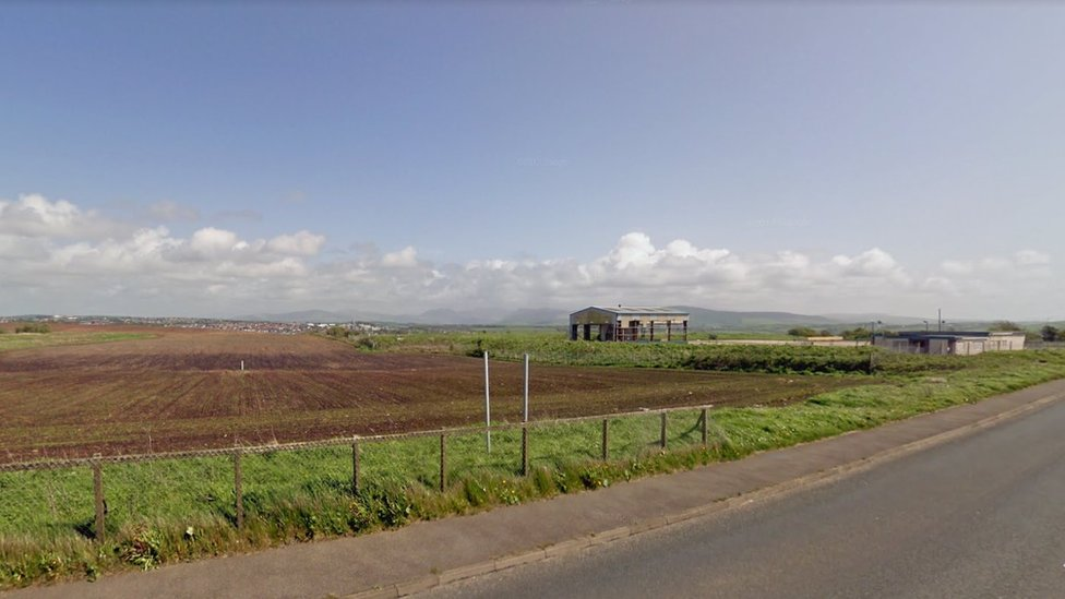 Site of former Marchon chemical works, Whitehaven, Cumbria