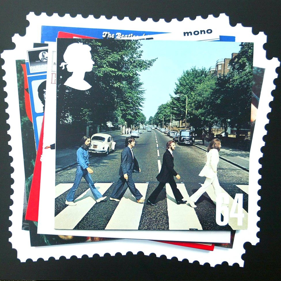 Sampul album dibuat perangko pada 2007.