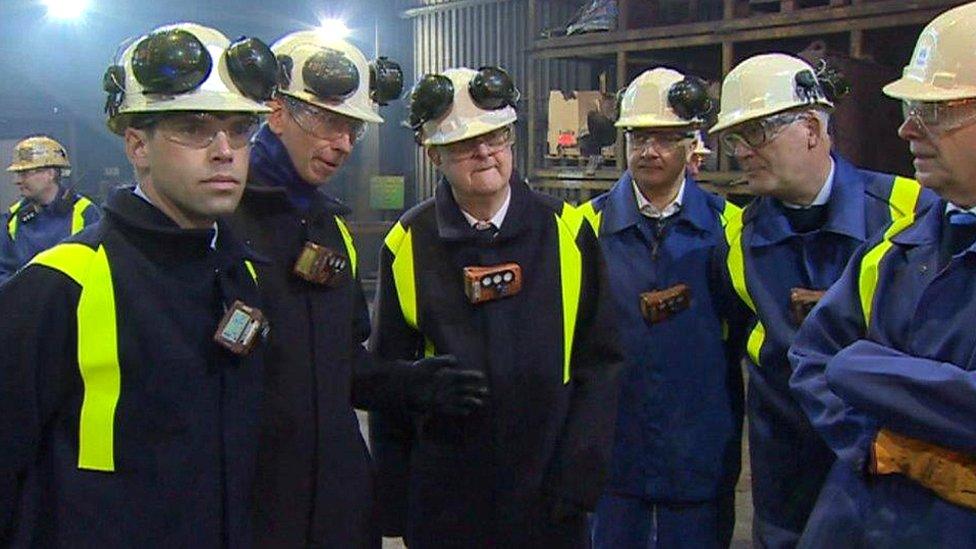 Tata management met First Minister Mark Drakeford and Economy Minister Ken Skates